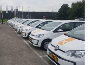 40 x auto klaarmaken voor aflevering bij restaurant de Betuwe in Tiel