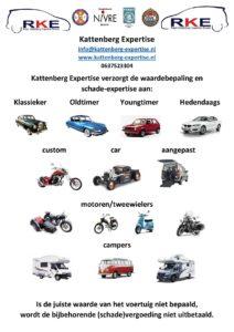 Kattenberg expertise verzorgt waardebepaling en schade-expertise van uw voertuig!