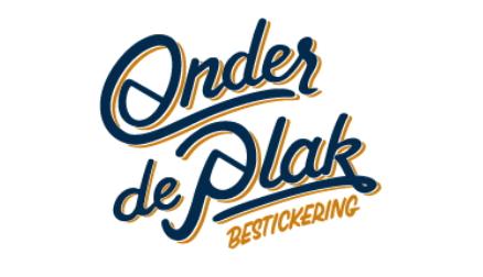 onder de plak logo